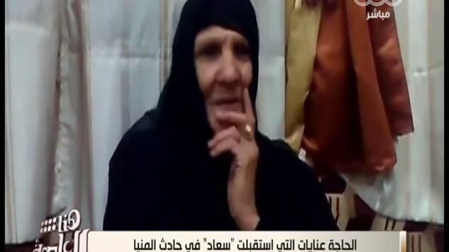بالفيديو أول حوار مع السيد المسلمة التي سترت السيده القبطية