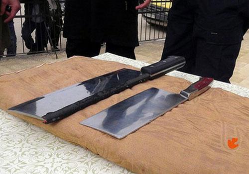 ادوات بتر اعضاء الجسم التي تستخدمها داعش
