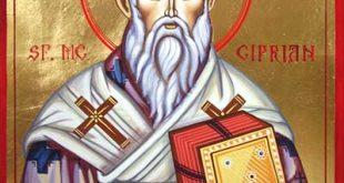 كبريانوس الشهيد والقديس يرسل رسالة عزاء إلى المعترفين في المناجم