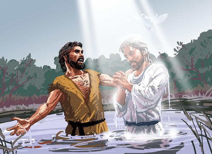 المعمودية وظهور الرب - للقديس كيرلس الأسكندري