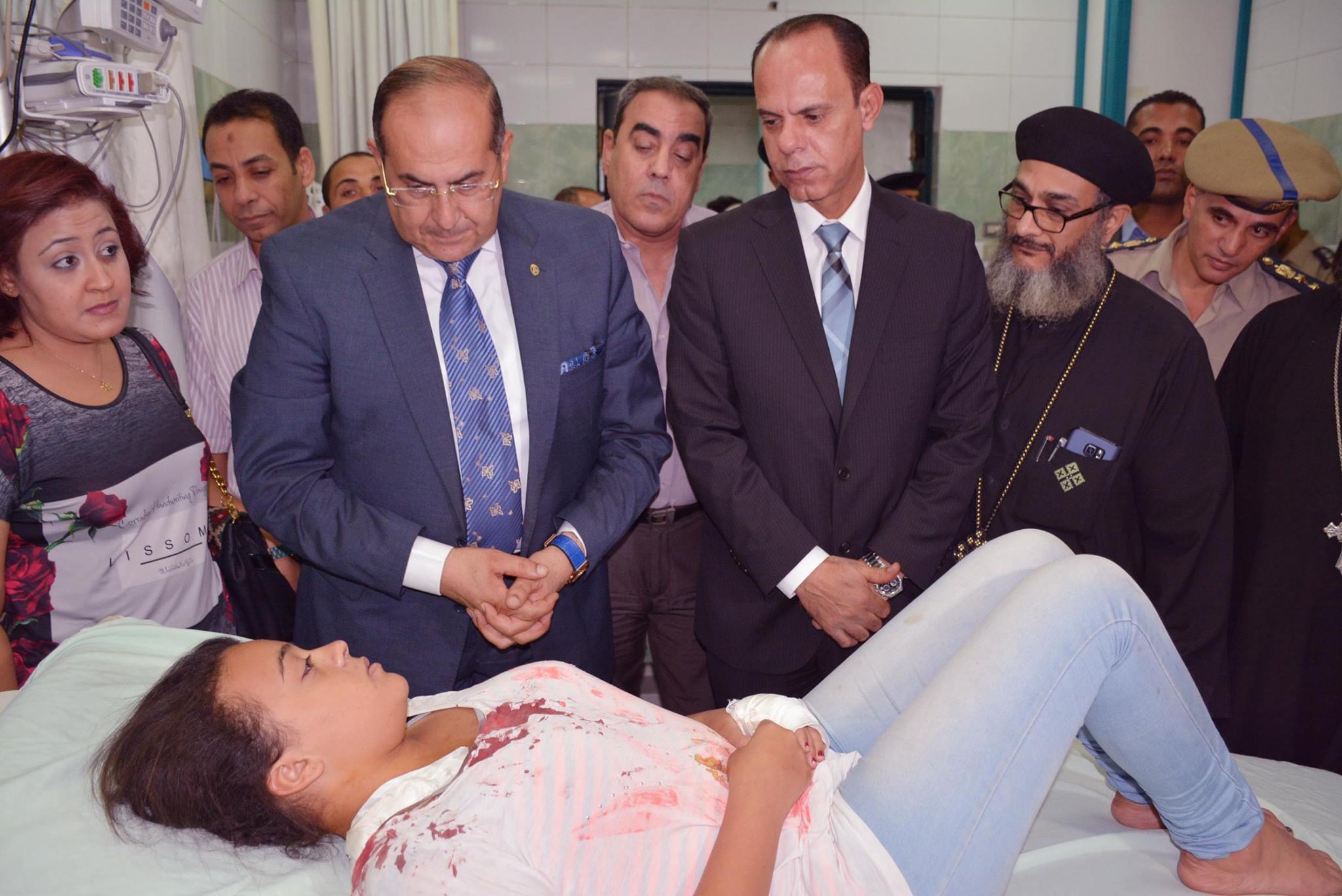 بيان مطرانية سوهاج بخصوص الإعتداء على ابنة أحد كهنة المطرانية