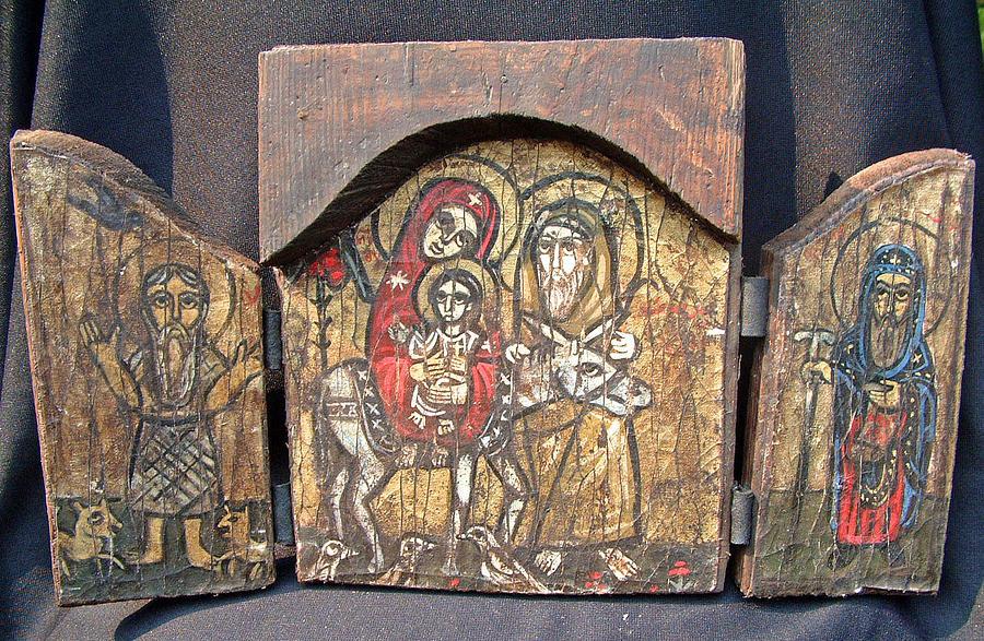 وثائق قديمة وتصريحات من الآباء القديسين بخصوص الأيقونات
