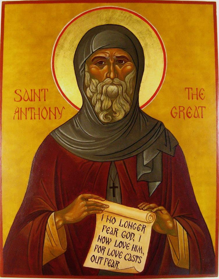 رسائل القديس أنطونيوس - سامح فاروق حنين