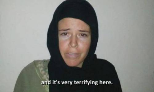 في فيديو يعرض لأول مرة .. رهينة داعش الأمريكية رفضت التحول للإسلام قبل مقتلها