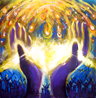 عطية الروح القدس - الصليب والمعمودية والامتلاء من الروح القدس