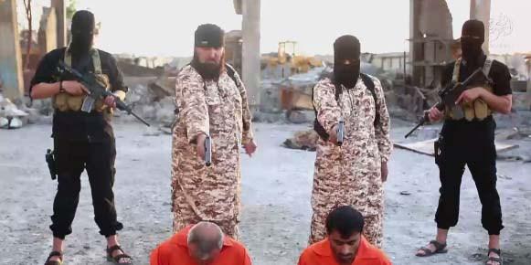 بالفيديو داعشي يعدم أخاه بدم بارد