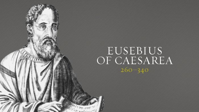 يوسابيوس القيصري - من هو يوسابيوس القيصري المؤرخ الكنسي ؟