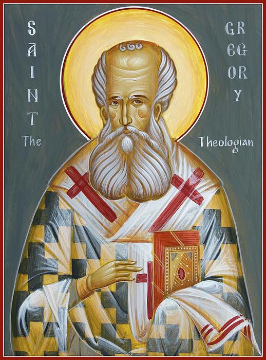 أغريغوريوس النيزينزي - قائمة أغريغوريوس النيزينزي (329 – 389 م)