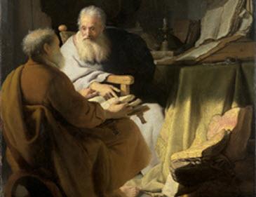 اثيناغوراس الفيلسوف وقانونية العهد الجديد (177م)