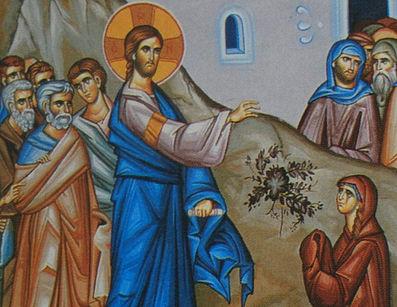 ايمان المرأة الكنعانية - ليس حسنا أن يؤخذ خبز البنين ويطرح للكلاب