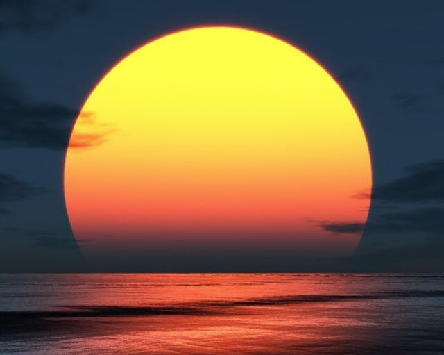 ما معنى والشمس تشرق والشمس تغرب وتسرع الى موضعها حيث تشرق ؟