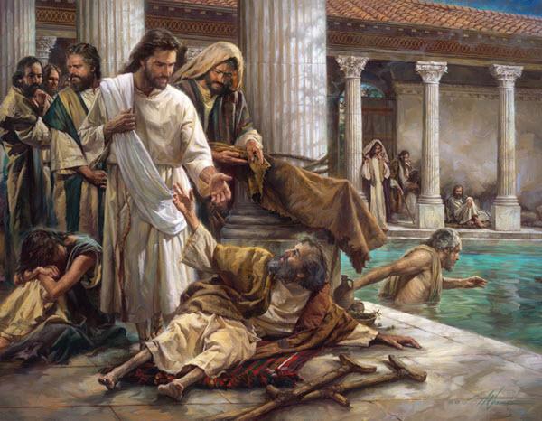 يسوع والمفلوج والتجديف اشارات مرقس إلى لاهوت المسيح