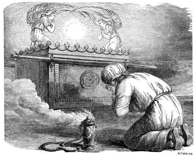 سر المسيح بين الكروبيم