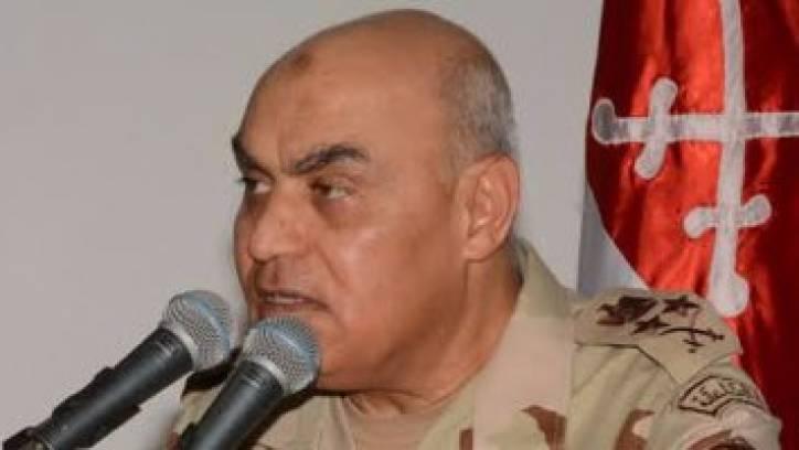 وزير الدفاع عن مصابى حادث الكاتدرائية