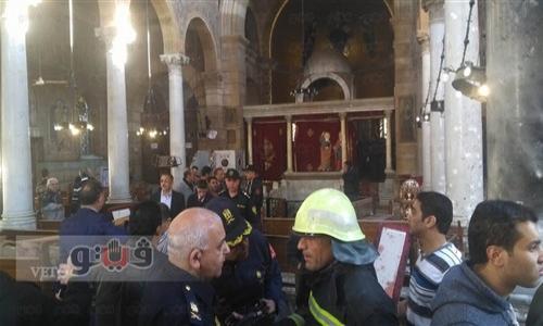 """شهود عيان: منفذ تفجير الكاتدرائية """"امرأة"""""""