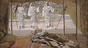 من هم الثلاثة الذين استضافهم أبو الآباء إبراهيم