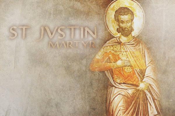 القديس يوستينوس Saint Justin Martyr