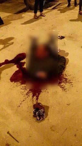 حقيقة ذبح داعش لراضي البريكي في وسط مدينة العريش