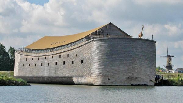 كيف استطاع نوح بناء الفُلك ؟