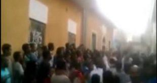 عاجل بالفيديو الأمن يطلق القنابل المسيلة للدموع لتفريق متظاهرين أمام منازل الأقباط