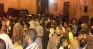 القبض على 5 متظاهرين أمام منازل الأقباط بالأقصر