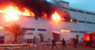 عاجل : القبض على مرتكبي حريق مصانع الأقباط بالإسكندرية