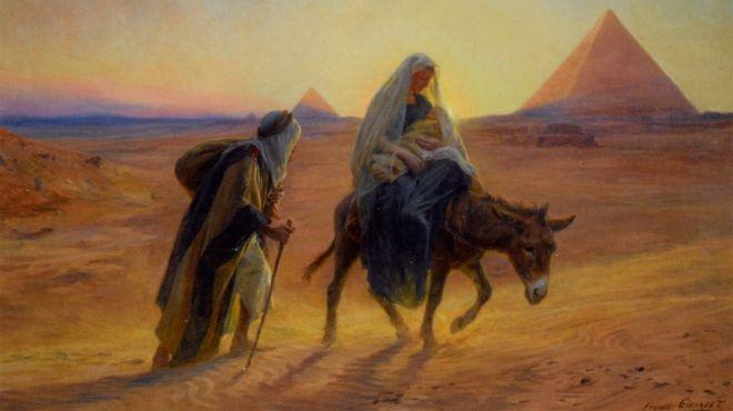 بالصور تحويل مسار العائلة المقدسة إلى مزار عالمي