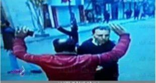 شاهد لحظة تصدي المقدم عماد الركابي للانتحاري وإنقاذه كنيسة المرقسية