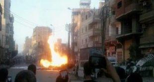 بالفيديو اللقطات الأولى لحادث انفجار كنيسة ماري جرجس بطنطا