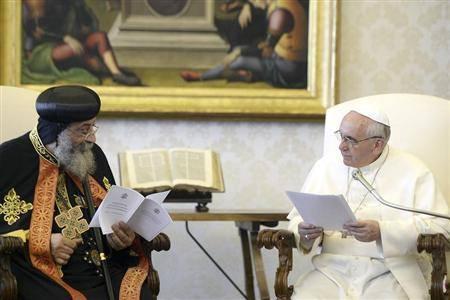 نص البيان المشترك بين الكنيسة الأرثوذكسية والكنيسة الكاثوليكية