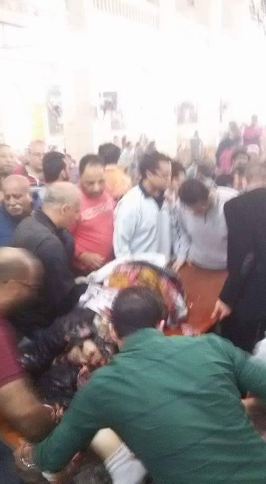 عاجل للكبار فقط اول صور لاشلاء وشهداء انفجار كنيسة طنطا للكبار فقط +18