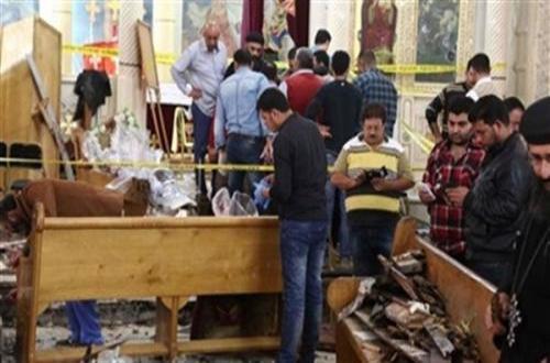 الأمن يحدد هوية المنفذين ويوقفمشتبه بهم ويجمع المعلومات عن المحرضين من تركيا وقطر وحرم آمن 800 متر بمحيط الكنائس