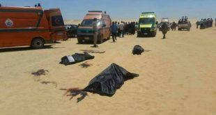 عاجل إستشهاد 26 وإصابة 23 طفل في هجوم مسلح على حافلة تقل أقباطا بمحافظة المنيا