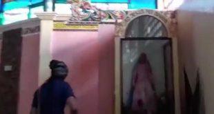 """بالفيديو.. """"داعش"""" يدنس كنيسة في الفلبين ويدمرها"""