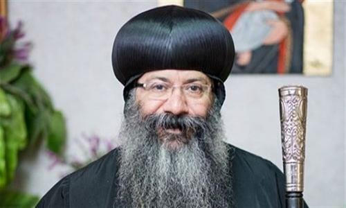 الأنبا مارتيروس ينعى القمص سمعان شحاتة : أطلب عنا يا شهيد المسيح