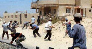 اعتداءات على اقباط عزبة زكريا بالمنيا احتجاجا على صلاتهم