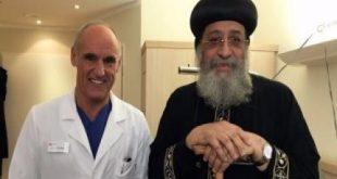 نجاح جراحة بالعمود الفقرى للبابا تواضروس في ألمانيا