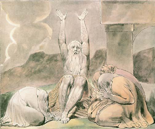 الله يتكلم في مشكلة أيوب - مشكلة الشر