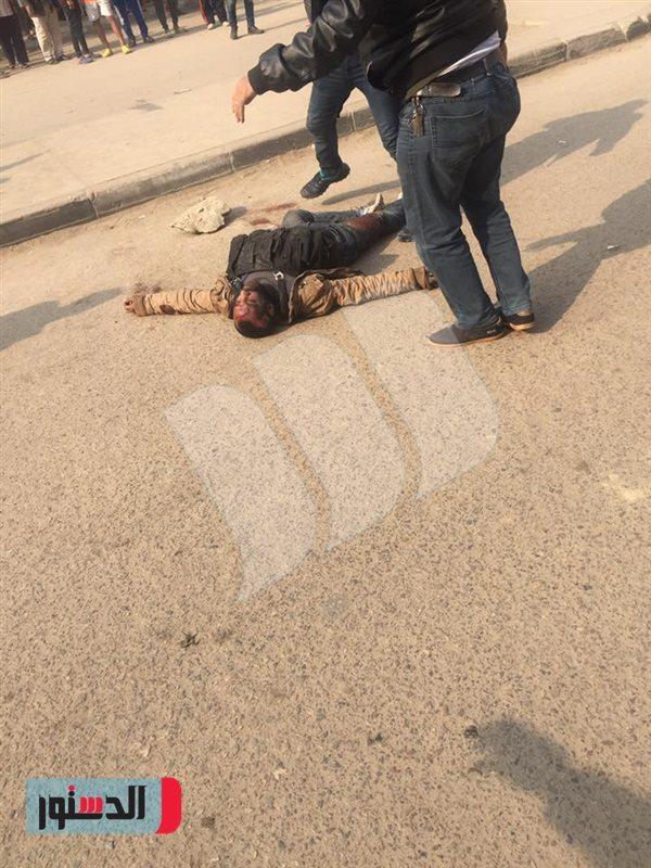 أول صورة لمنفذ هجوم كنيسة حلوان بعد إطلاق النار