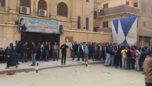 ننشر أسماء شهداء حادث استهداف كنيسة حلوان إرهابيًّا