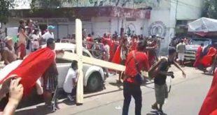 عاجل إطلاق النار بشكل عشوائى على مسيحيين يحتفلون بأسبوع الآلام فى المكسيك