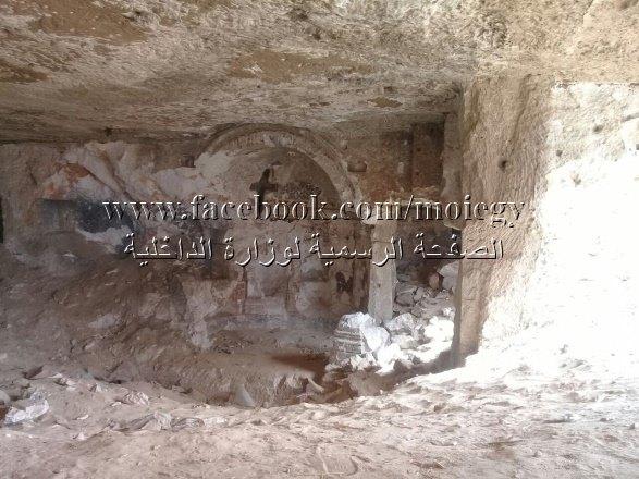 عاجل: إكتشاف مدينة أثرية ترجع للقرن الثاني بها كنيسة يونانية رومانية وهيكل بمحافظة المنيا
