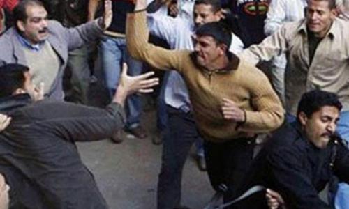 """أقباط منبال : أغلقنا منازلنا فور الهجوم علينا .. والقبطى المتهم بالإساءة للإسلام نجل """"قرابنى"""" ولايجيد الكتابة والقراءة"""