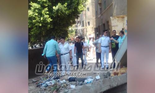 محافظة القاهرة: إزالة سور كنيسة مار جرجس لعدم حصوله على تصريح من الحي