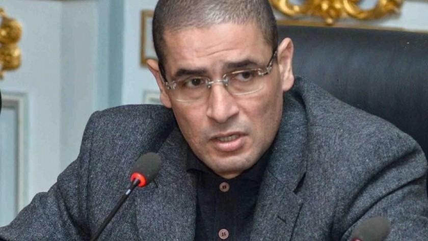 النائب محمد أبو حامد: إيقاف عبد اللهه رشدي تأخر.. وكتاباته جرائم تستحق العقوبة المشددة
