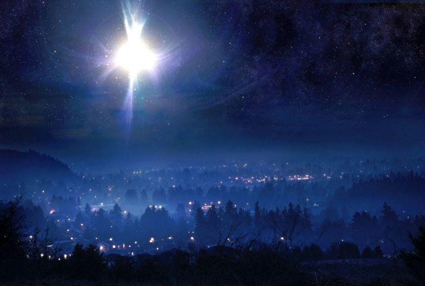 فلمّا رأوا النجمَ فرحوا فرحاً عظيماً (متى 2: 10)