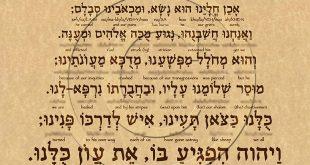 نبوات اشعياء 53 - هل تتكلم عن أحداث في الماضي وليست في المستقبل؟ - ترجمة ابانوب صليب